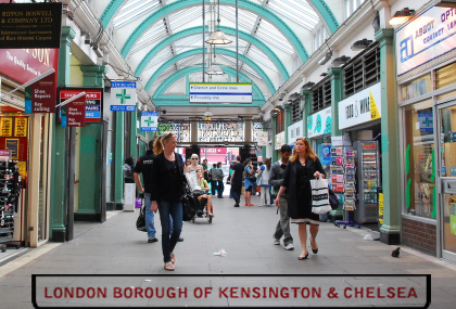 A Tour of London's Beautiful Kensington and Chelsea