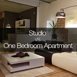 studio vs one bedroom
